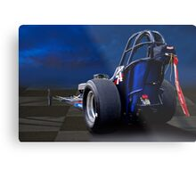 Nostalgia Top Fuel Dragster 2 Metal Print