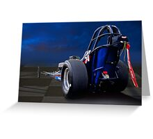 Nostalgia Top Fuel Dragster 2 Greeting Card
