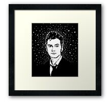 TEN STARBURST Framed Print