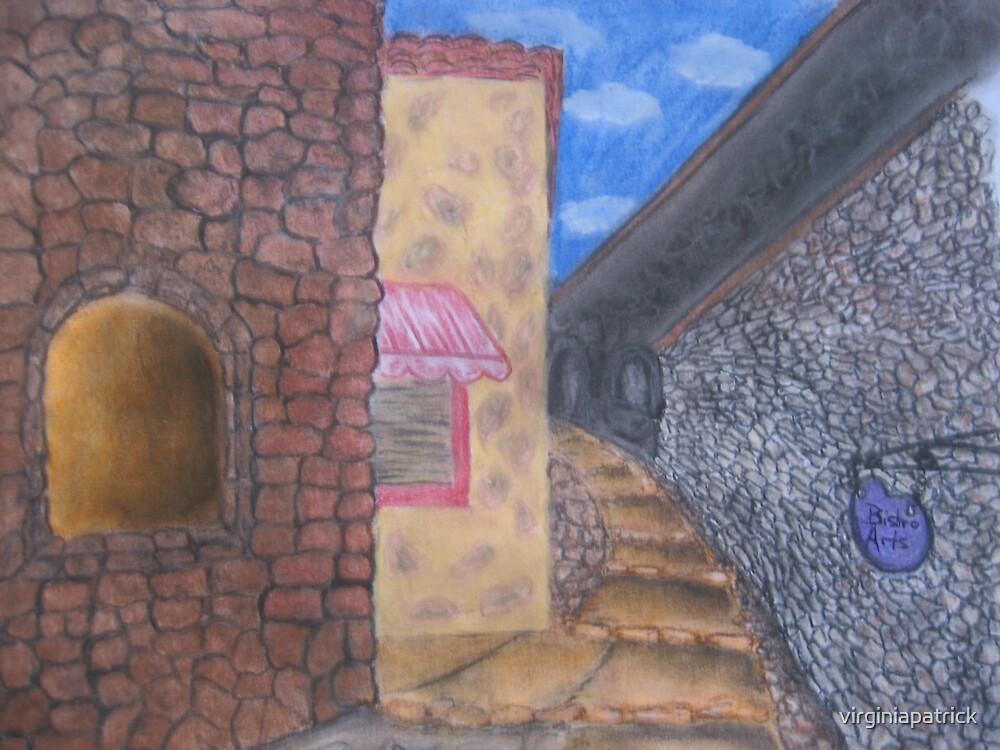 Italy Walkway by virginiapatrick