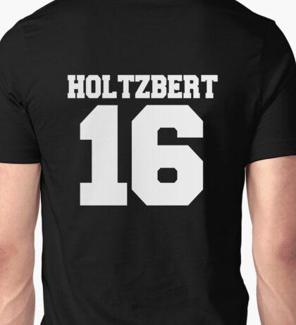 Ghostbusters Holtzbert '16 Varsity Style White Text Unisex T-Shirt