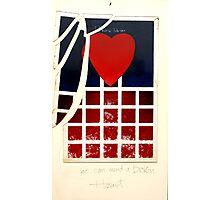 Love Can Mend A Broken Heart! Photographic Print