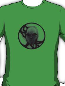 T-Shirt: Lightning Face Blackout T-Shirt