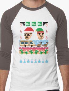 Breaking Christmas - Ugly Christmas Sweater Men's Baseball ¾ T-Shirt