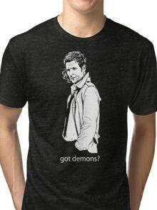 got demons? Tri-blend T-Shirt