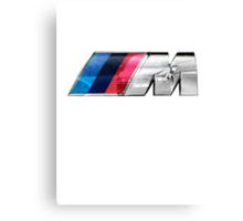 BMW E39 M5 Overlay Canvas Print