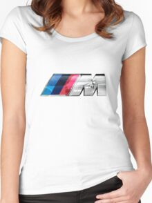 BMW E39 M5 Overlay Women's Fitted Scoop T-Shirt