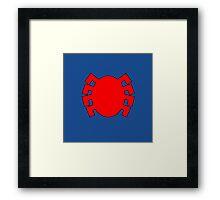 Classic Spider-man Framed Print