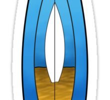 Surfboard Design T shirt Sticker