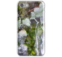 Abstract ice forms iPhone Case/Skin