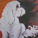HARVEY oil on canvas by Shauna  Noble