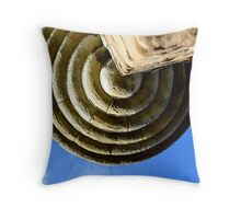 Under the turret Throw Pillow