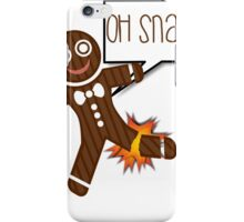 Oh Snap Funny Holiday Christmas or Thanksgiving iPhone Case/Skin