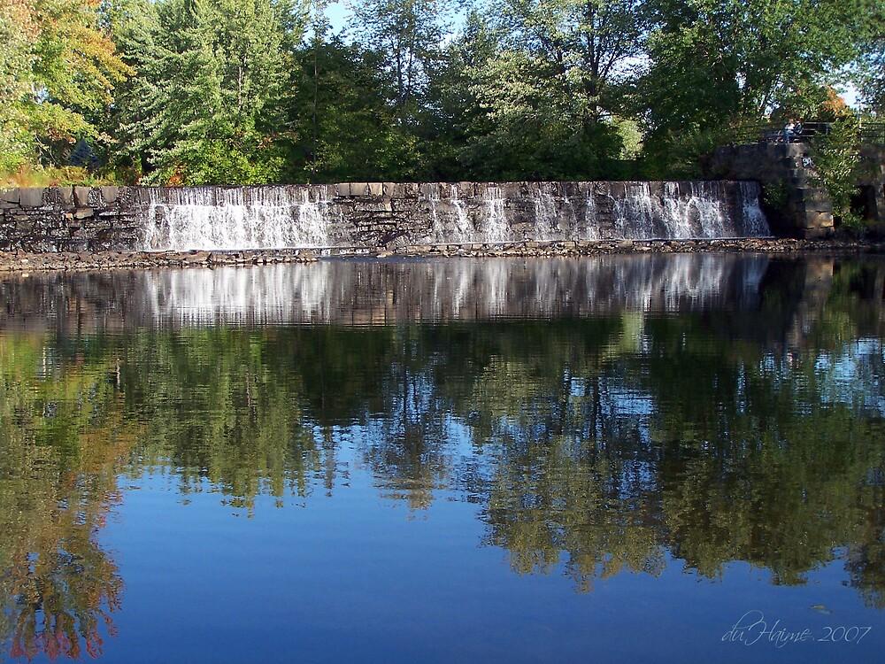 Ashuelot Falls by dduhaime55