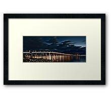 Tasman Bridge, Hobart Framed Print