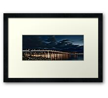 Tasman Bridge, Hobart Framed Print