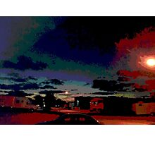 Industrial Ave., Port Richey, FL Photographic Print