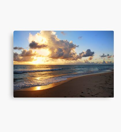 Sunrise in Every Corner Canvas Print