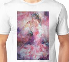 Absorbed In Dance - Dancers Art Gallery Unisex T-Shirt