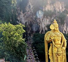 The Caves Climb II - Batu Caves, Malaysia. by Tiffany Lenoir