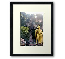 The Caves Climb II - Batu Caves, Malaysia. Framed Print