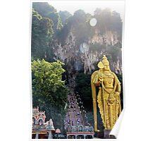 The Caves Climb II - Batu Caves, Malaysia. Poster