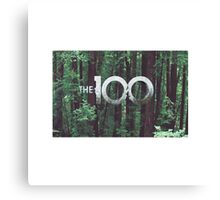the 100 cw Canvas Print
