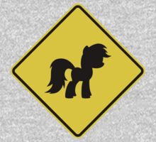 Pony Traffic Sign - Diamond Kids Clothes