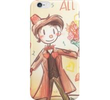 Doctor Who Valentine - Be Mine For All Time iPhone Case/Skin