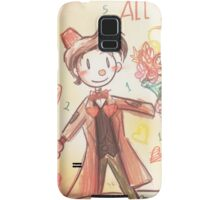 Doctor Who Valentine - Be Mine For All Time Samsung Galaxy Case/Skin