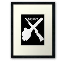 evil dead groovy v2 Framed Print