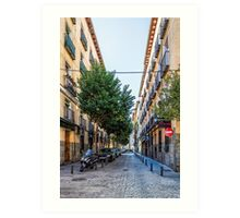 Amnesty street in Madrid Art Print