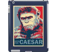VOTE FOR CAESAR iPad Case/Skin
