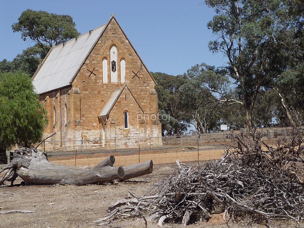 South Australia Country Town, Church-Burra by photoj