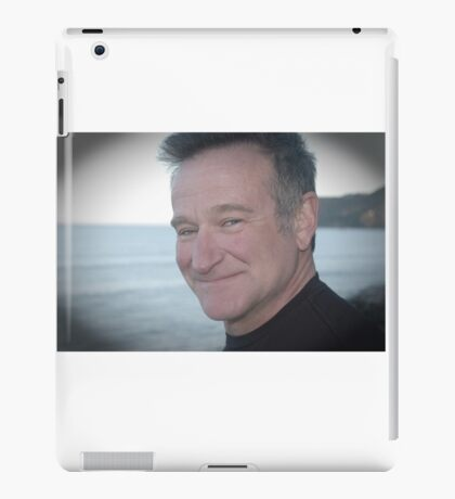 Tribute to Beloved Robin Williams  iPad Case/Skin