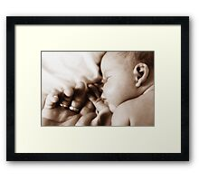 Baby Bliss Framed Print