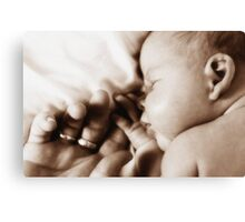 Baby Bliss Canvas Print