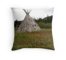 Handmade Tipi Throw Pillow