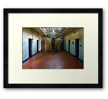 Old Geelong Gaol Framed Print
