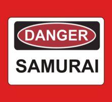 Danger Samurai - Warning Sign One Piece - Long Sleeve