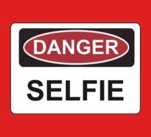 Danger Selfie - Warning Sign One Piece - Long Sleeve