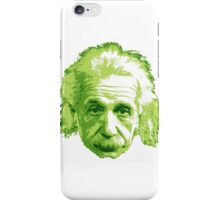 Albert Einstein - Theoretical Physicist - Green iPhone Case/Skin