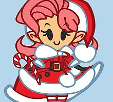 A Very Chibi Christmas: Santas Helper Chibi by Penelope Barbalios