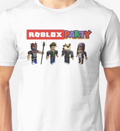 Roblox Party Unisex T-Shirt