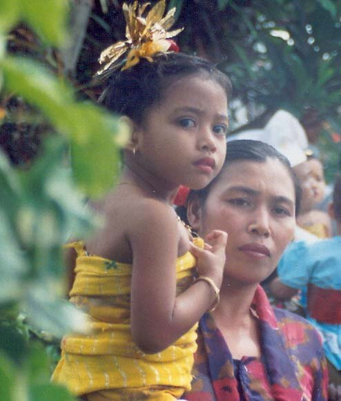 Bali Mother and Daughter by Jacko