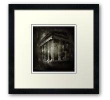 Forgotten Dreams Framed Print