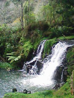 waterfalls by TeeAy
