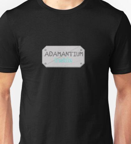 Adamantium it can't be broken Unisex T-Shirt
