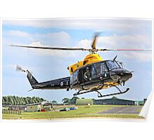 Bell 412EP Griffin HT.1 ZJ235/I G-BXBF Poster