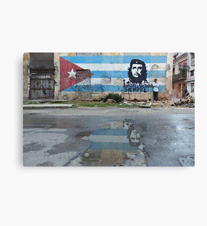 Che Guevara Mural Canvas Print